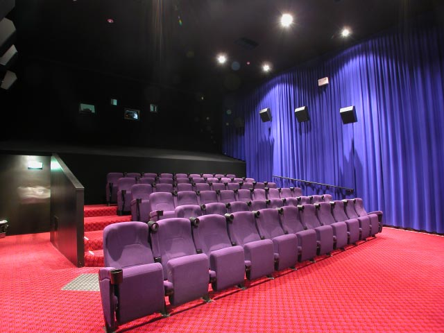 Inside of Cinema 1